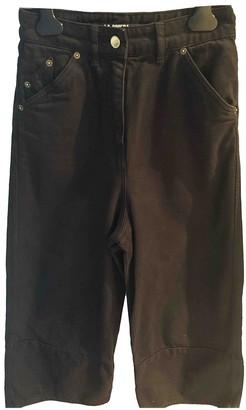 Jacquemus La Riviera Black Denim - Jeans Jeans for Women