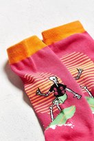Urban Outfitters Surf Skeleton Crew Sock