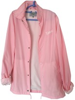 Carhartt Pink Leather Jacket for Women