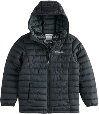 Columbia Boys 8-20 Powder Lite Hooded Jacket