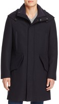 Cole Haan Waterproof Wool Blend Parka