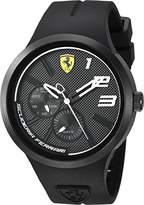 Ferrari Men's 'FXX' Quartz Plastic and Silicone Casual Watch