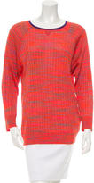 M Missoni Long Sleeve Knit Sweater