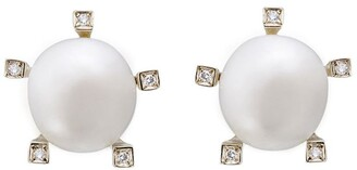 H.Stern Noble Gold, Diamond and Pearl Earrings