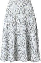 Cecilia Prado knitted skirt - women - Viscose/Acrylic/Lurex - PP