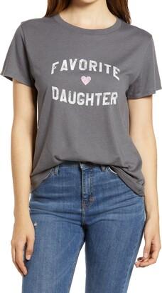 Sub Urban Riot Favorite Daughter Loose Graphic Tee