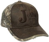 Justin Boots Men's Wax Cloth Camo Back Panel Ball Cap with Justin Star Logo