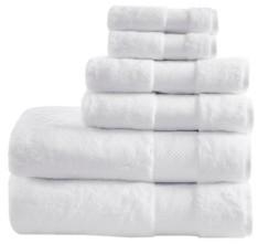 Madison Home USA Signature 100% Turkish Cotton 6-Pc. Towel Set Bedding