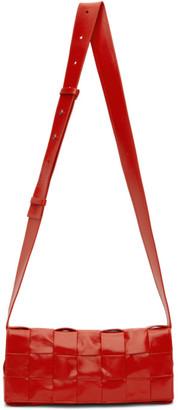 Bottega Veneta Red The Stretch Cassette Bag