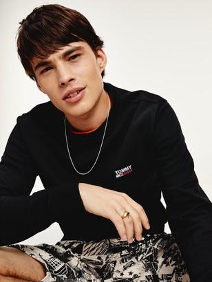 Tommy Jeans Washed Corp Logo Sweatshirt - Black