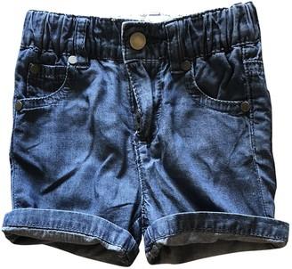 Stella McCartney Stella Mc Cartney Blue Denim - Jeans Shorts