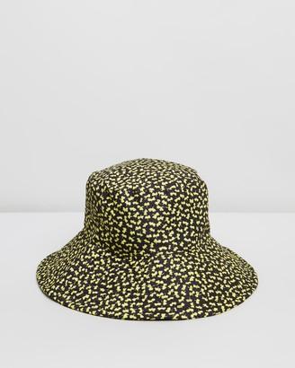 Topshop Quilt Floral Bucket Hat