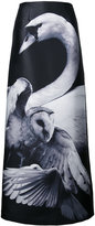Romance Was Born A-line bird print skirt - women - Polyester - 6