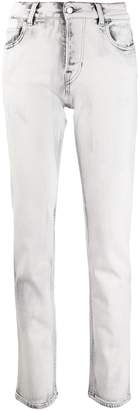 Emporio Armani marble-effect wash jeans