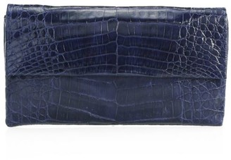 Nancy Gonzalez Small Gotham Crocodile Clutch