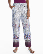 White House Black Market Paisley Printed Pants