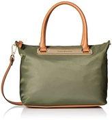 Tommy Hilfiger Harper Nylon Shopper Satchel Bag