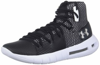 Under Armour Women's Drive 5 After Burn Basketball Shoe Black (001)/White 6