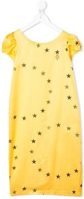 The Animals Observatory Star-Print Midi Dress