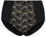 George Lace Panel Full Briefs