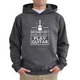 Eddany Many grandpas watch tv the best grandpas play guitar Hoodie