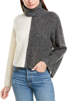 Nicholas Colorblocked Alpaca-Blend Sweater