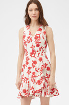 Rebecca Taylor Scarlet Embroidered Wrap Dress
