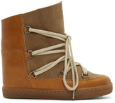 Isabel Marant Camel Nowles Snow Boots
