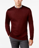 Ryan Seacrest Distinction Men's Contrast-Shoulder Sweater, Only at Macy's