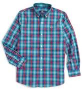 Vineyard Vines Northern Shore Plaid Woven Shirt (Toddler Boys, Little Boys & Big Boys)