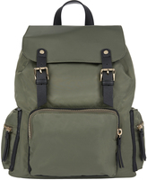 Accessorize Nylon Double Tab Backpack
