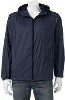 Hemisphere Men's Packable Hooded Rain Jacket
