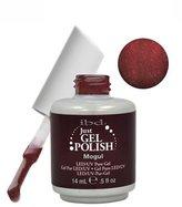 IBD Just Gel MOGUL Soak Off Red Brown Nail Polish UV .5 oz LED by