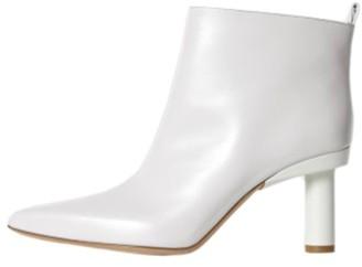 Tibi Theo Baby Calf Boot in Grey