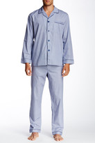 Majestic Long Sleeve Piped Pajama Set