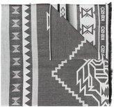Kenzo Aztec print scarf - women - Silk/Modal/Wool - One Size