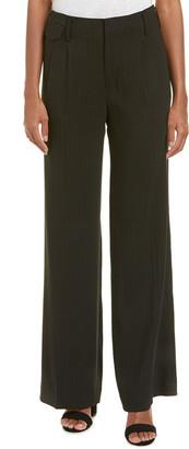 Nili Lotan Pleated Wool & Silk-Blend Pant