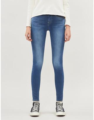 Frame Le Skinny de Jeanne skinny high-rise jeans
