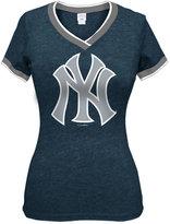 5th & Ocean Women's New York Yankees Triple Flock T-Shirt
