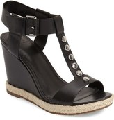 Marc Fisher 'Kelli' Studded Wedge Sandal (Women)