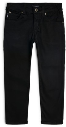 Emporio Armani Kids Logo-Pocket Jeans (4-16 Years)