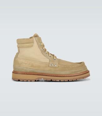 Jacquemus Les Chaussures Garrigue suede boots