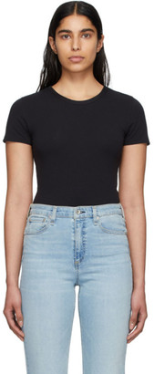 Rag & Bone Black The Tee Bodysuit