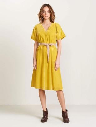 Bellerose Hoek Dress In Pollen - 10