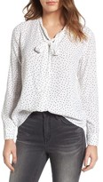 Rails Women's Colette Tie Neck Blouse