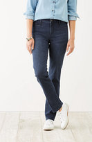 J. Jill Smooth-Fit Straight-Leg Jeans