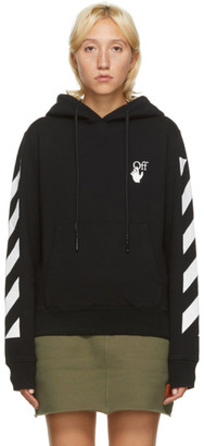 Off-White Black Agreement Hoodie