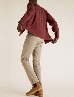 Marks and Spencer Suede Pull-On Chelsea Boots