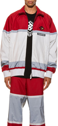 Burberry Tracktop in Bright Red | FWRD