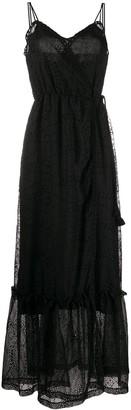 Pinko eyelet maxi dress